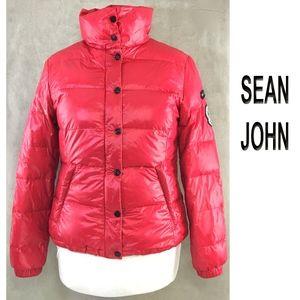 SEAN JOHN 50% Down 50% Water Foul Puffer Jacket